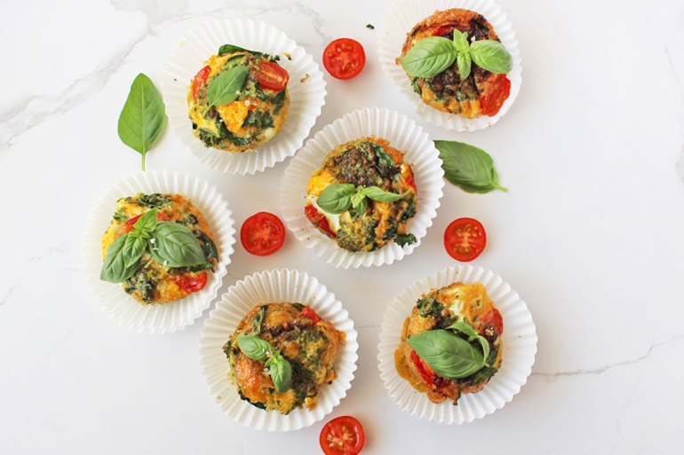 egg muffins meal prep breakfast