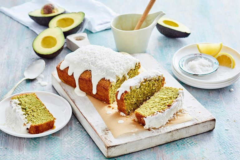 lemon avocado pound cake
