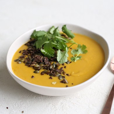 low fodmap carrot potato soup