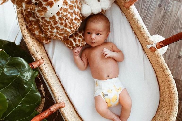 placenta for post-partum depression, baby in crib
