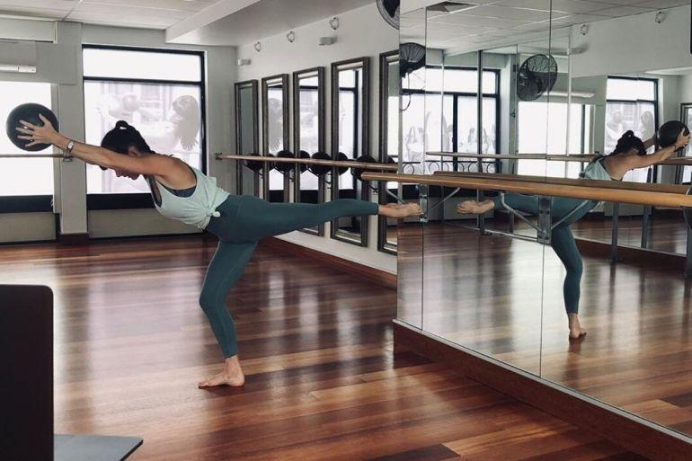 ballerina workout