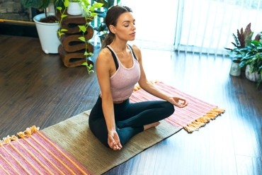 herb-infused yoga mats