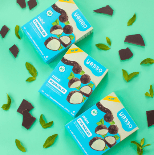 Yasso Green Yogurt chocolate snacks