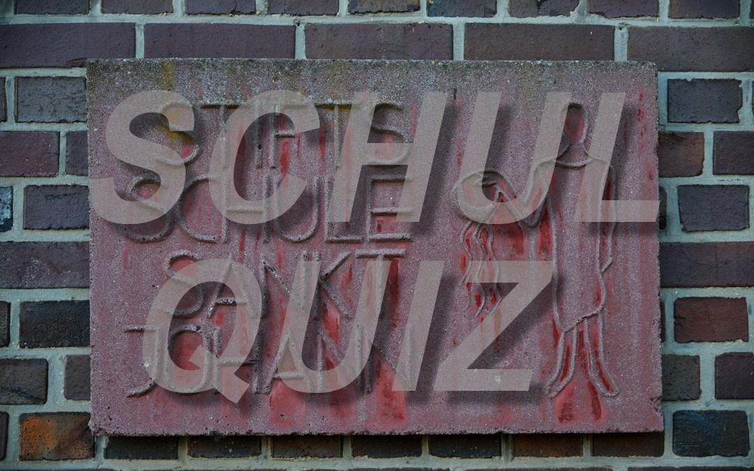 Schulquiz 2017 der Stiftsschule St. Johann Amöneburg