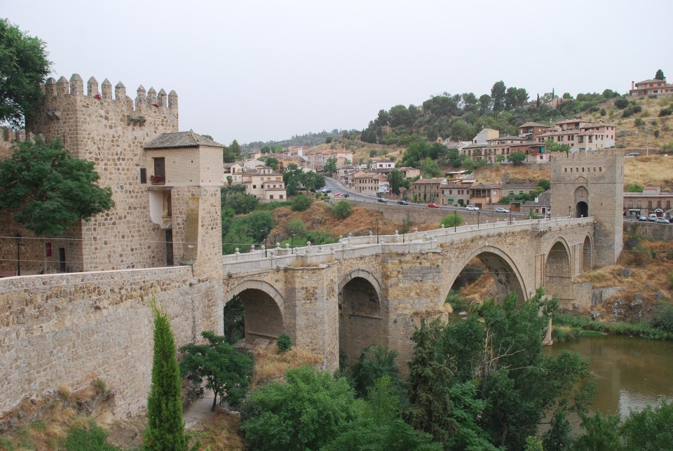 Puente san martin toledo