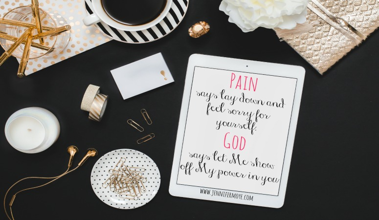Chronic pain, both physical and emotional, can be crippling and bind us to a less than ideal life. But it doesn't have to! We serve a God that is no stranger to our pain.