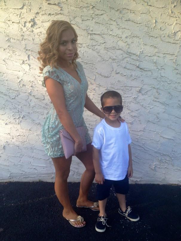A Mommiez Fashion Diary (Yessenia Ramos) with my beautiful son Jayden Perez