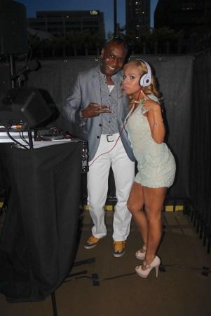 A Mommiez Fashion Diary (Yessenia Ramos) with DJ Theo Philip