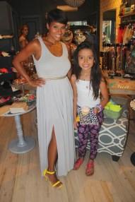 Kyrzyda Rodriguez with Abigail Rose