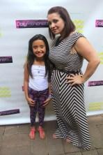 Abigail Rose and her mommy ( Kyrzyda Rodriguez biggest fan)