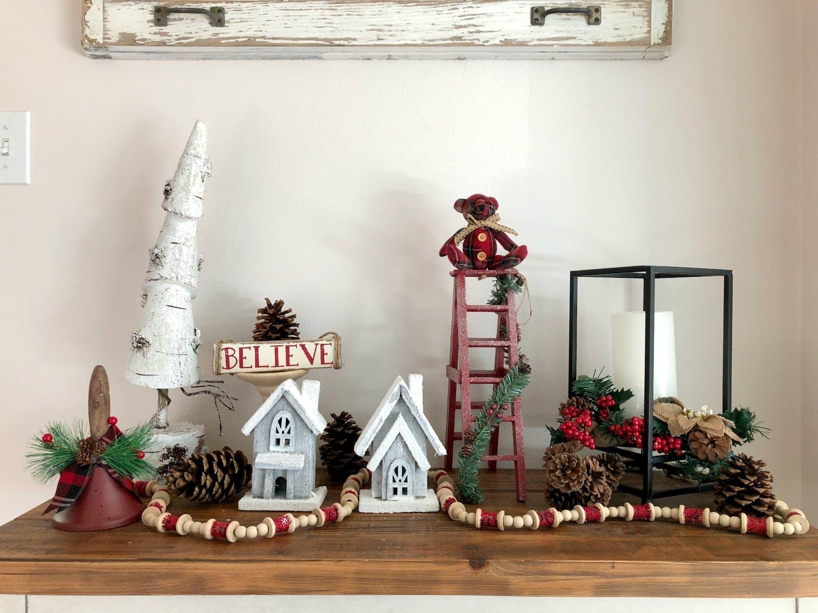 Simple Farmhouse Christmas Decor Ideas On A Budget