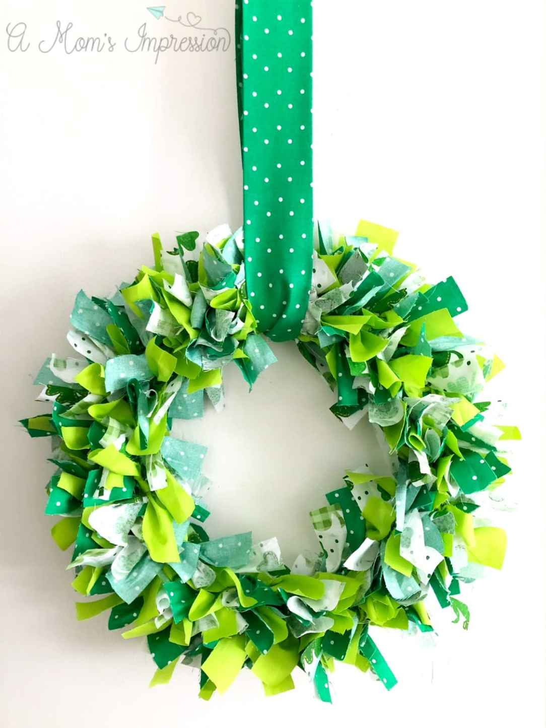 How to Make a Shamrock Wreath