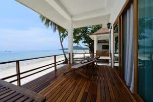Pawapi Koh Mook Balcony