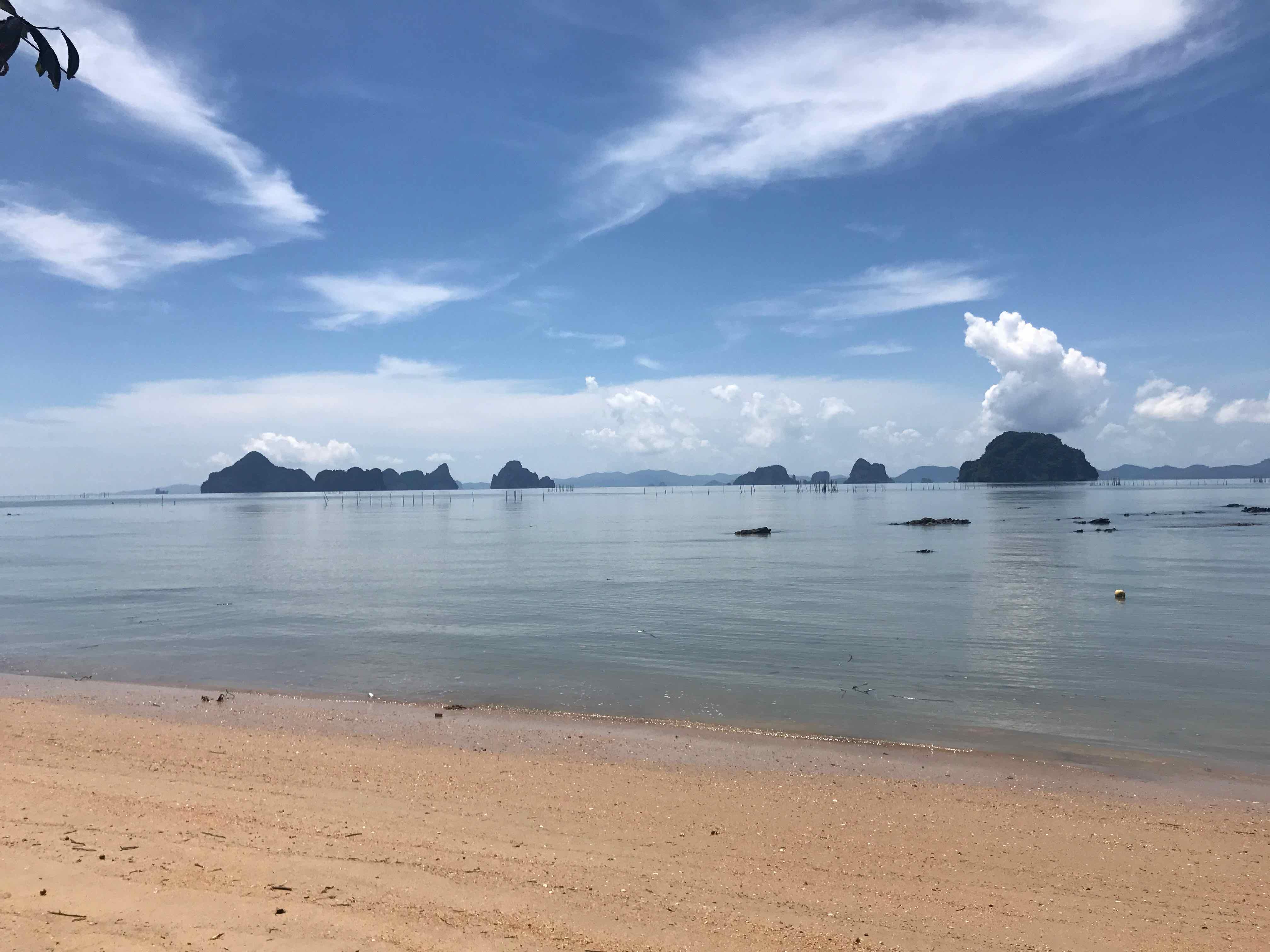 Thalane beach krabi Thaïlande