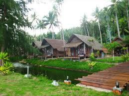 koh ngai coco cottage garden view