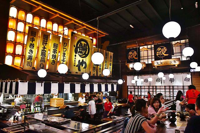 大江戶町鰻屋, 台中鰻魚飯推薦, 台中美食, 台中日本料理推薦