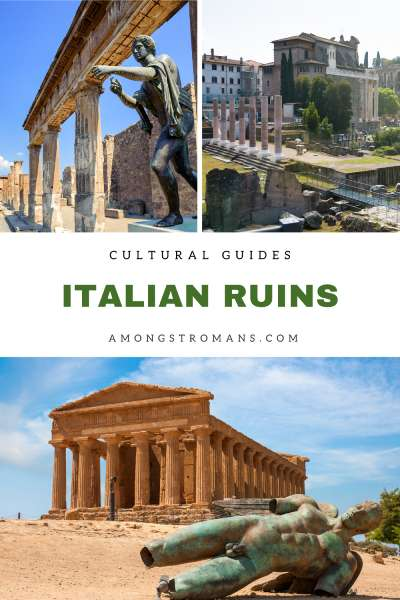 Guide to Roman ruins in Italy for culture lovers