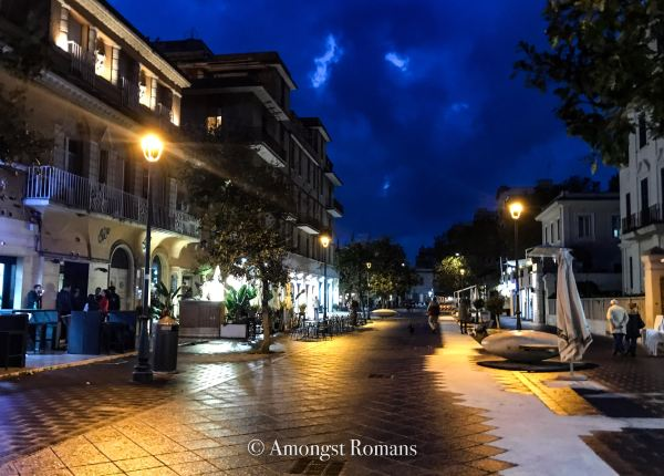 street of Lido di Ostia