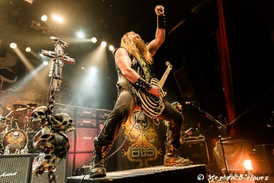 concert BLACK LABEL SOCIETY paris 2015