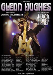 Doug ALDRICH rejoint Glenn HUGHES !!!