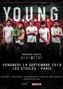 Y.O.U.N.G – Les Etoiles, 14 septembre 2018