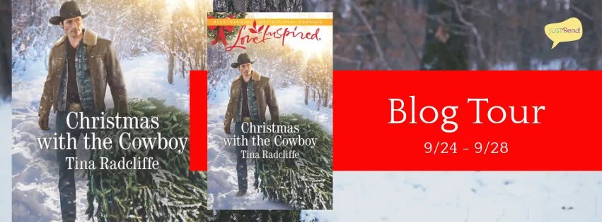 Christmas with the Cowboy by Tina Radcliffe - Book Review, Giveaway