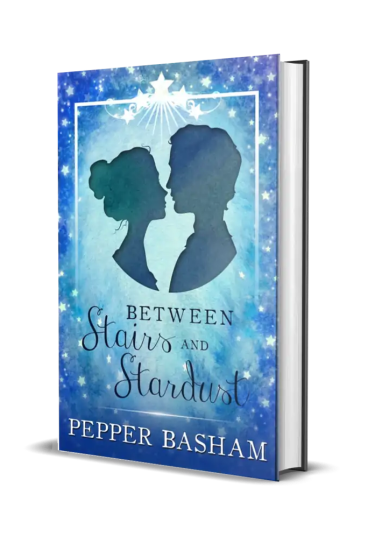 Between Stairs and Stardust by Pepper Basham Cover Reveal