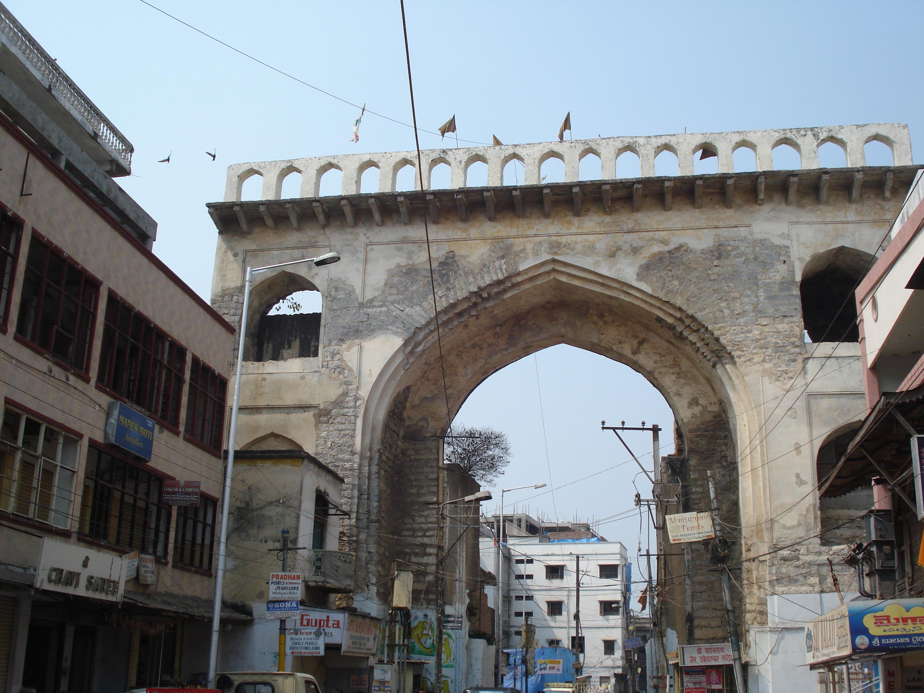 Hyderabad, Laad Bazaar area