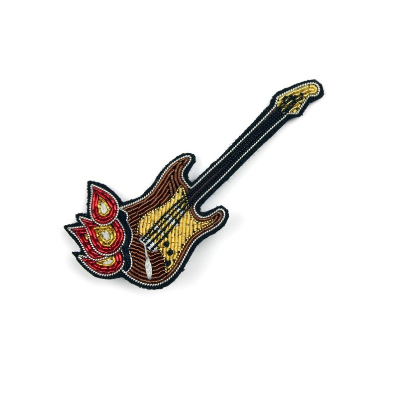 Broche Macon & Lesquoy Guitare Jimmy