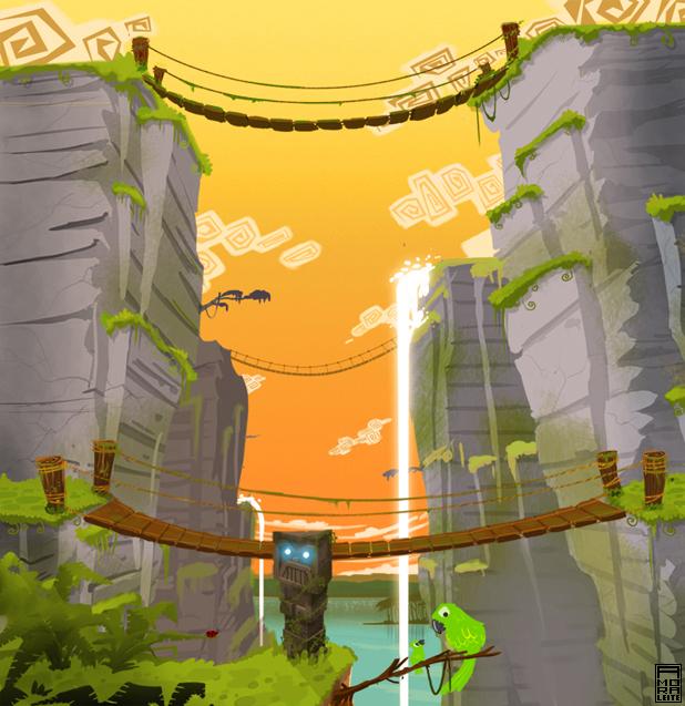 Concept Art of Amazon - Nintendo Wii (not release) (4/6)