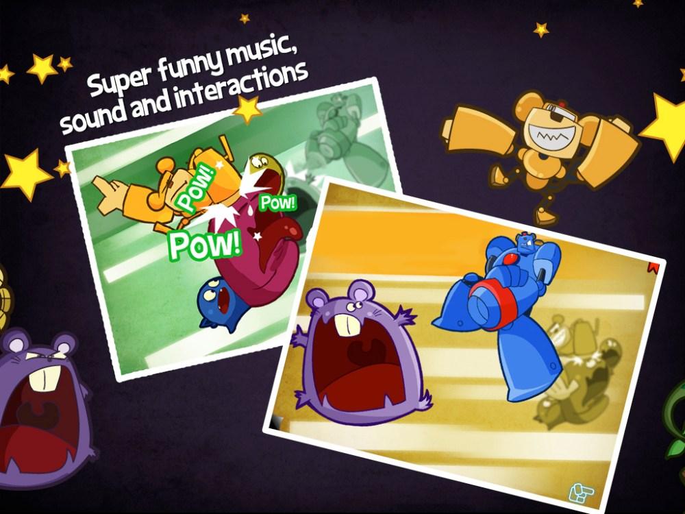 Monstros vs Robôs - Livro interativo + Games (6/6)