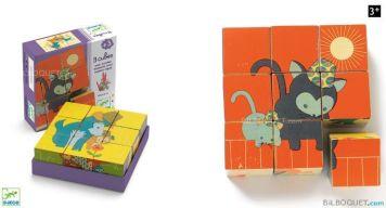 Puzzle de cubos de Djeco