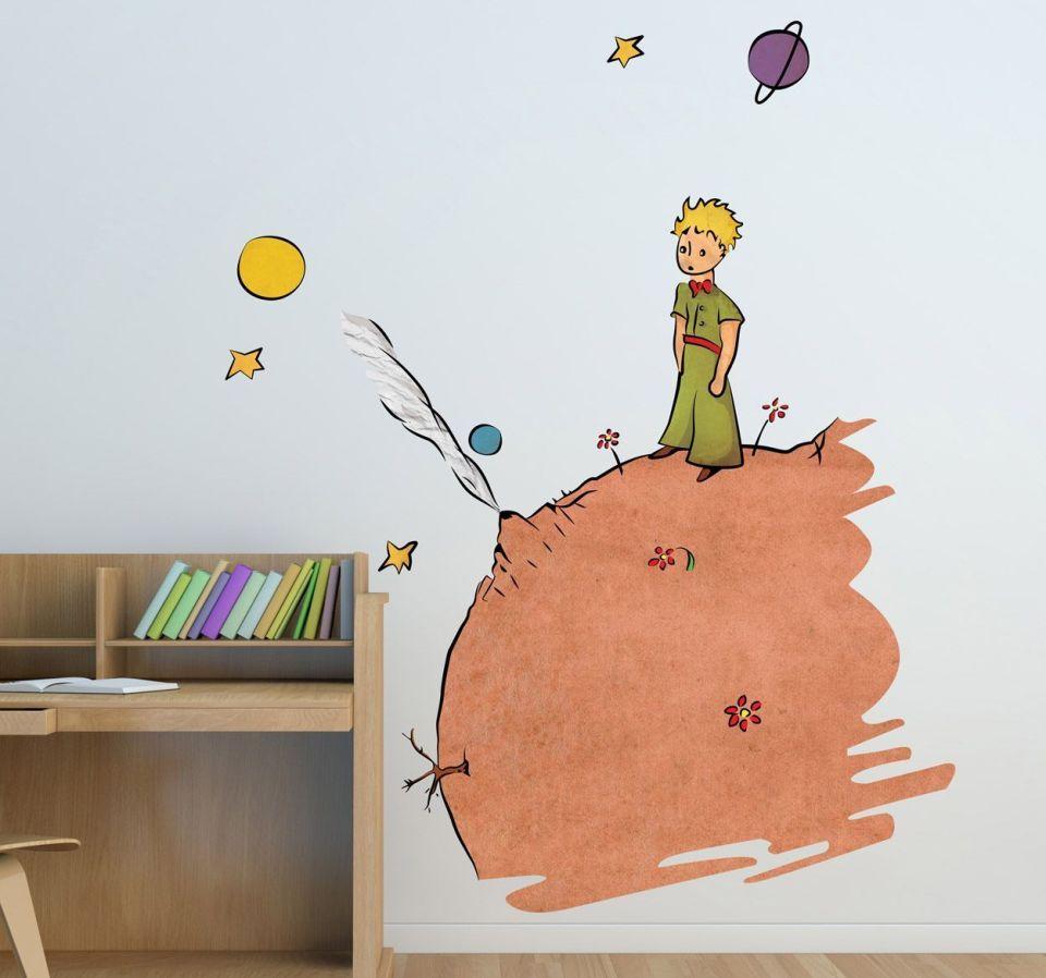 vinilo-infantil-ilustracion-principito-color-5203