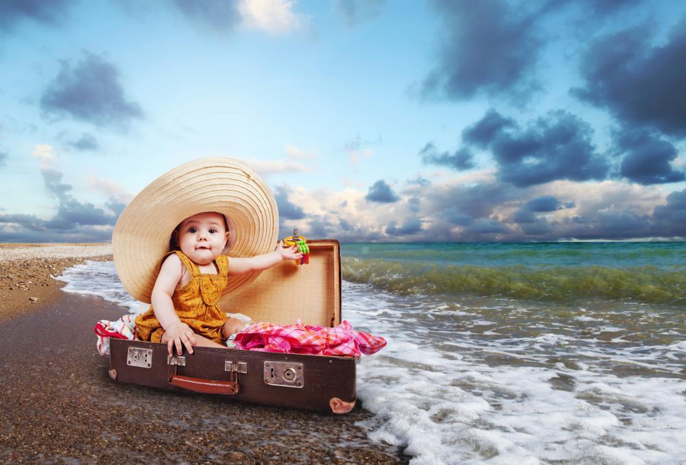 Como preparar un viaje con un bebe