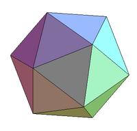 Icosaedro maternal del amor