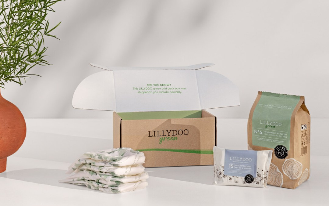 Pañales LILLYDOO Green