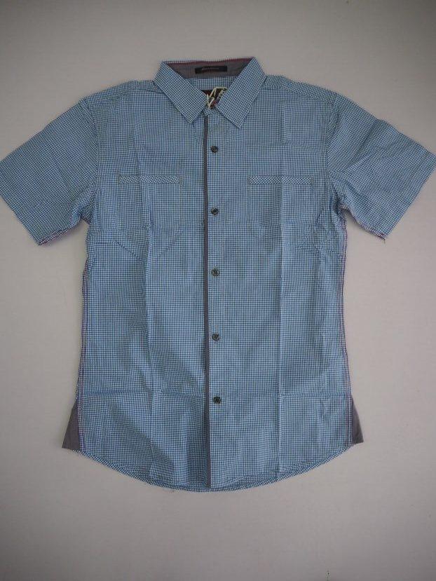 Small Blue Checked Shirt