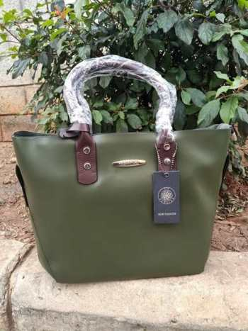 Jungle green bag