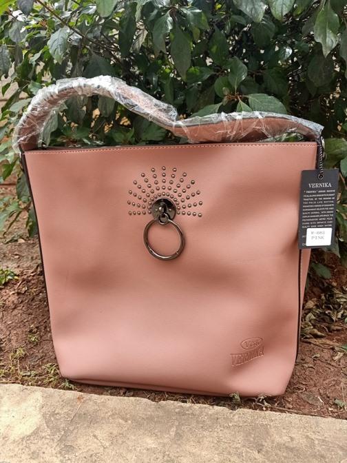 Pinkish ring bag