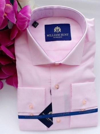 William hunt pink shirt