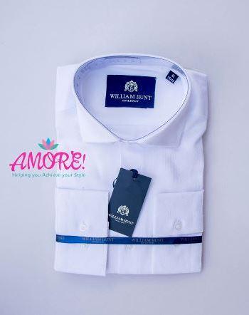 White printed shirt