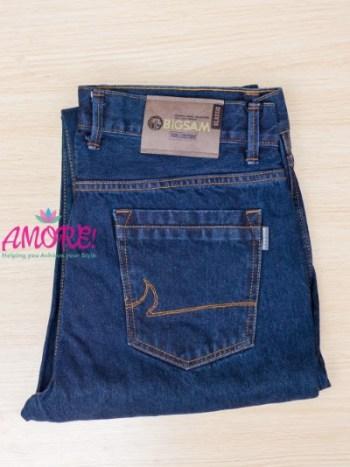 BS dark blue jeans