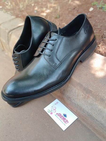Black suit shoe