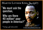 MartinLutherKingQuestionAboutPoor