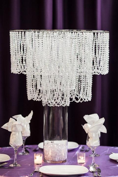 Chandelier Centerpiece Rental - Weddings, Sweet 16, New Jersey
