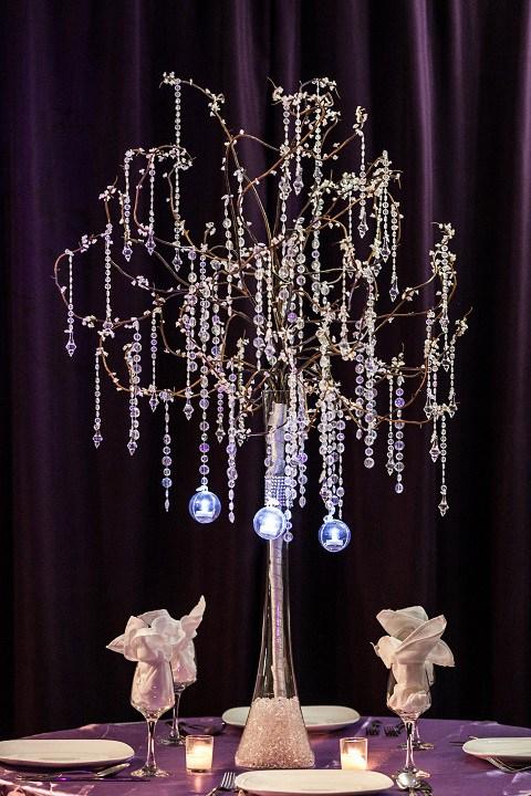 Krystal Tree Centerpiece Rental (2)