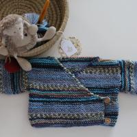 Scaldacuore bebé a maglia