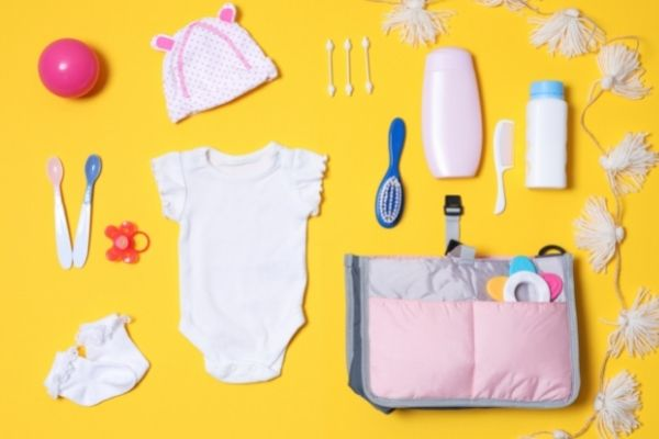 stock up on baby supplies