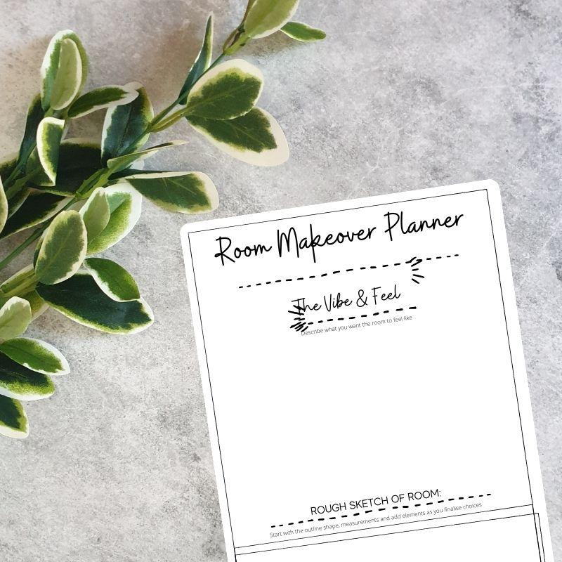Room Makeover Planner Printable