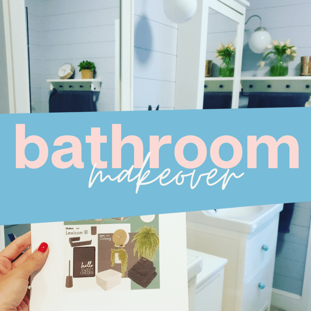 Bathroom Makeover On aA Budget
